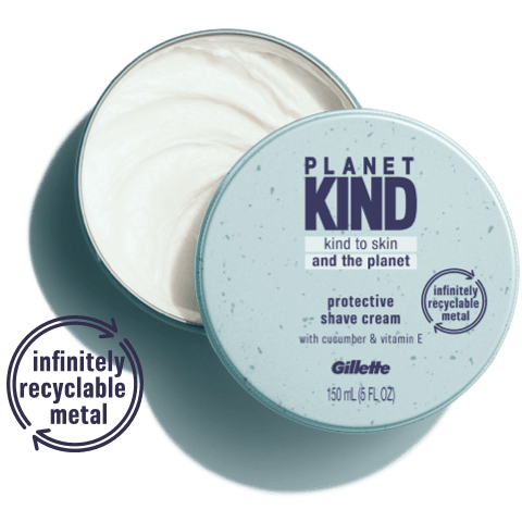 Planet Kind PROTECTIVE SHAVE CREAM